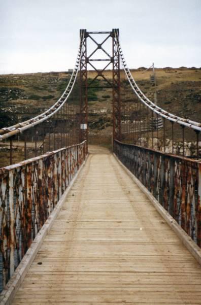 Bridgemeister Bodie Creek Suspension Bridge