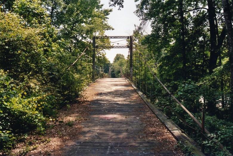 Bridgemeister Byram Swinging Bridge