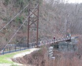 Patapsco Valley State Park Footbridge