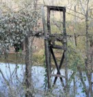 North Fork Kentucky River Swinging Bridge Remnants