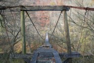 North Fork Kentucky River Swinging Bridge