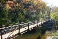 Patapsco Valley State Park Footbridge - Finishing Touches