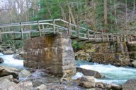 Babcock State Park Suspension Footbridge