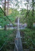 Bolton Road Suspension Footbridge