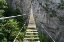 Nelson Rocks Via Ferrata Swinging Bridge